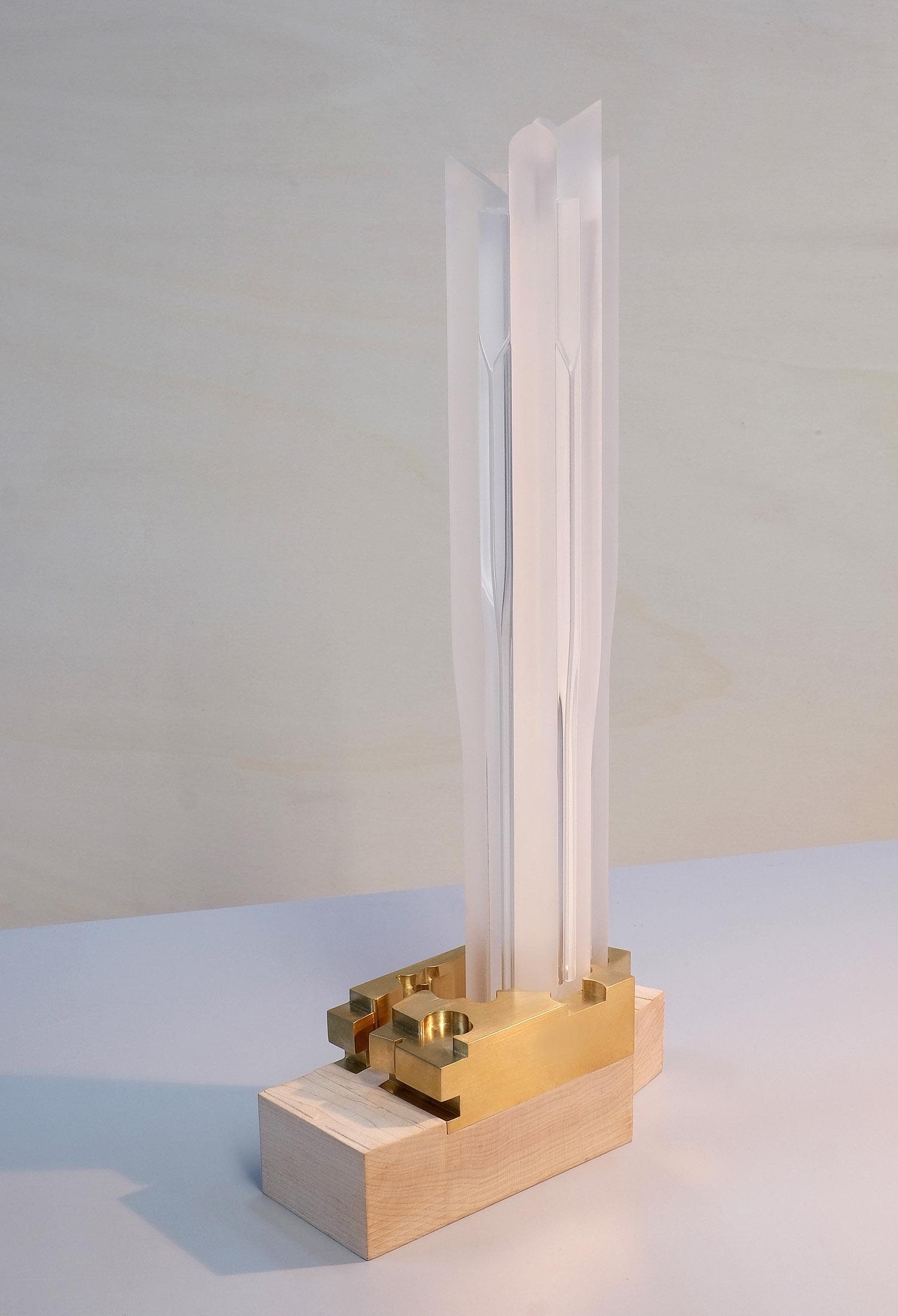 1:750 conceptual architectural model