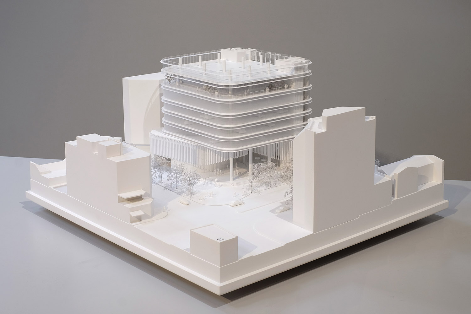 Cross section architectural model