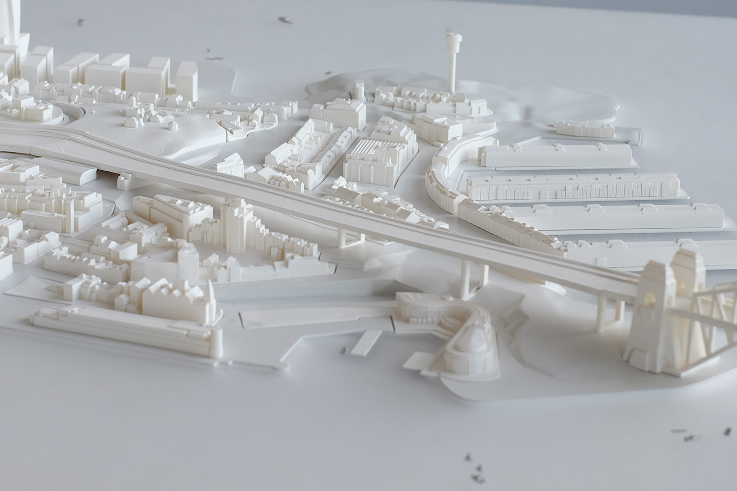 Masterplan model for City of Sydney