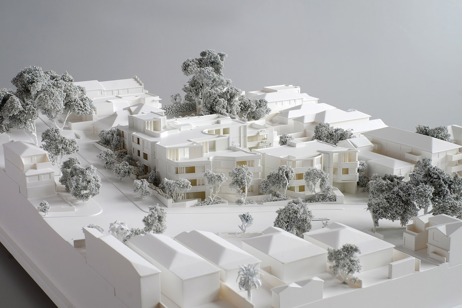 Scaled model for Waverley Council Development Application