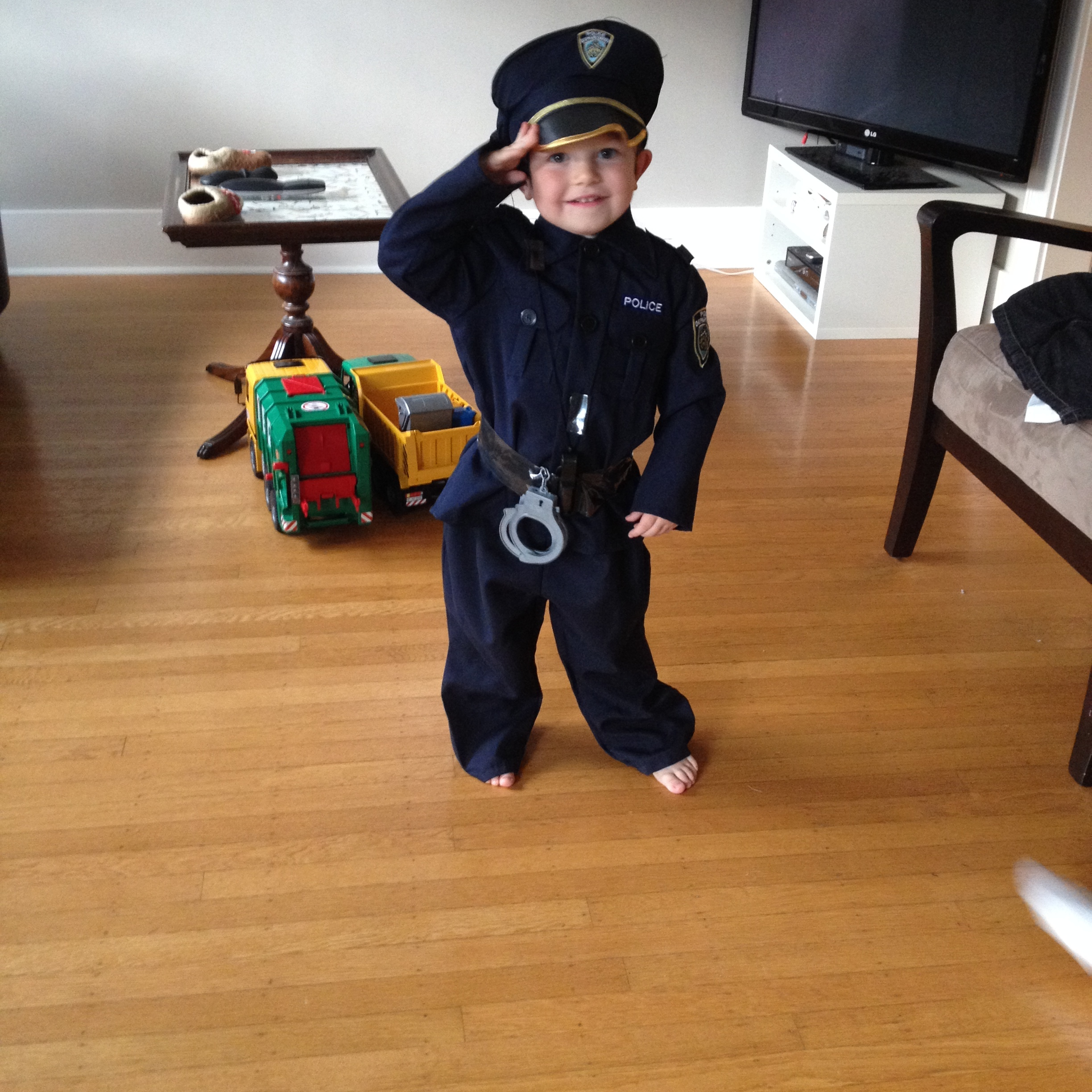 A salute to you! Danny, Halloween 2014