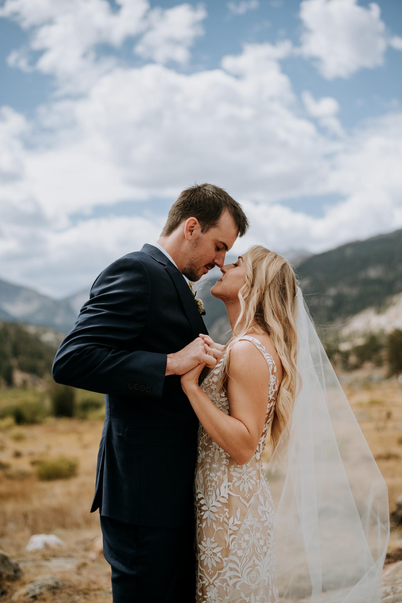 Check out this Rocky Mountain National Park Estes Park wedding.