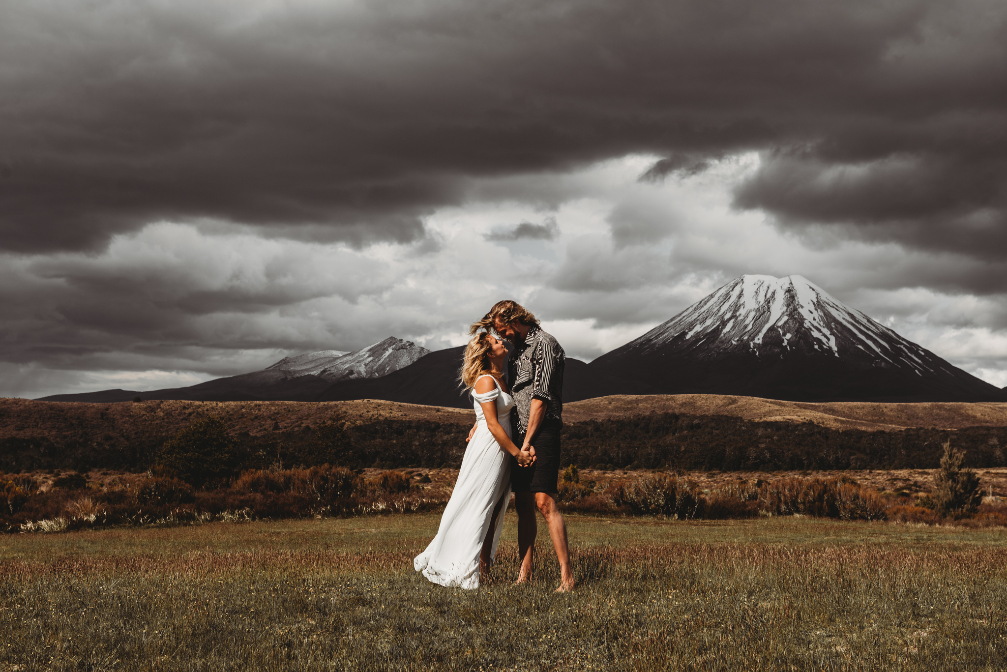 tongariro national park wedding