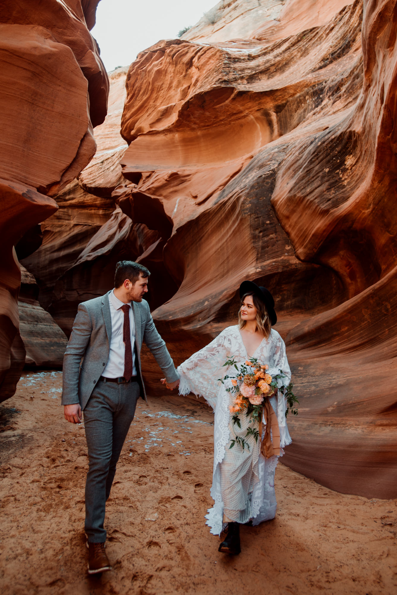 I love that this couple chose to dedicate time for photography for their Arizona wedding.