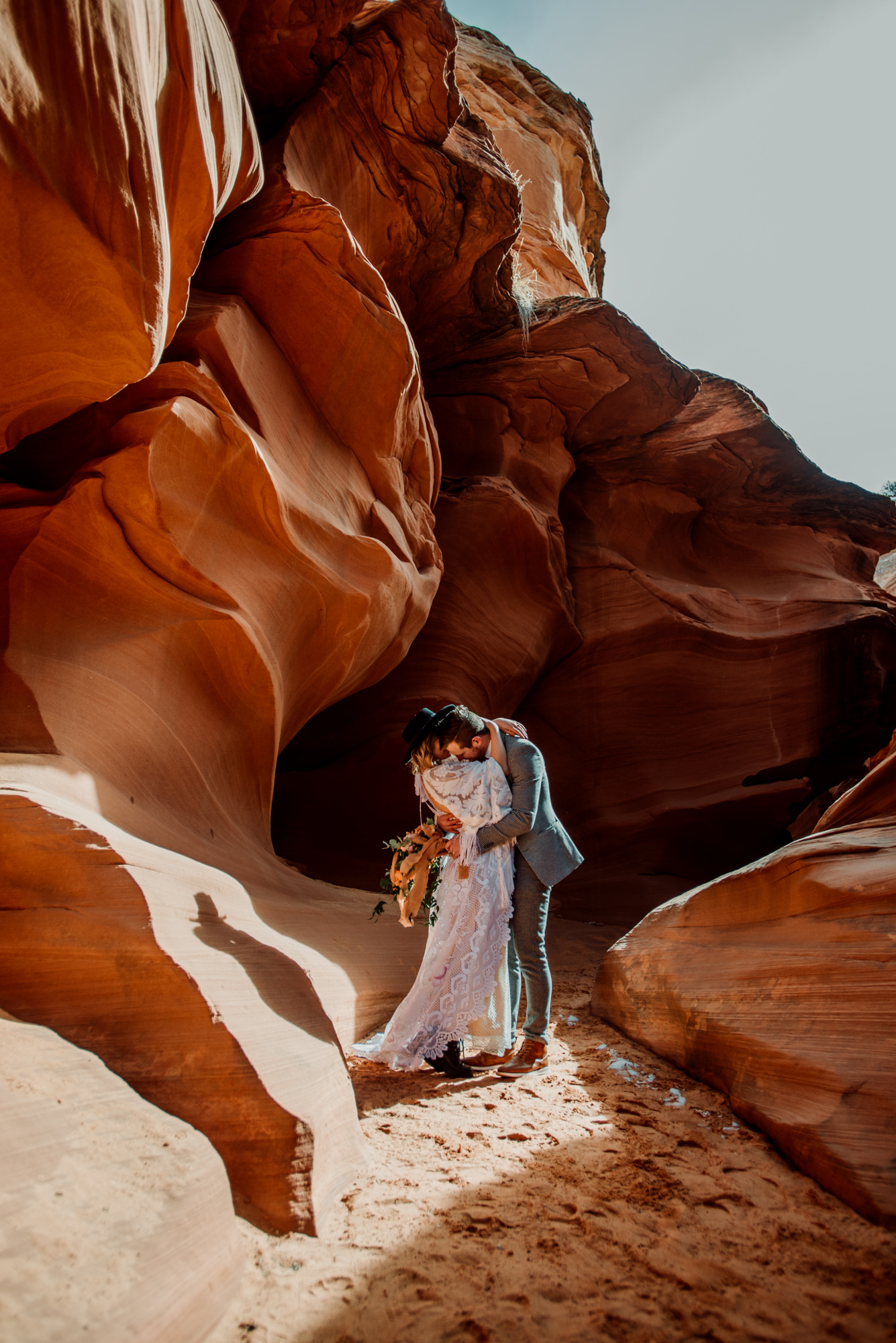 Photographing in the canyons was so dynamic- it was so exciting to play with all of the lighting possibilities.