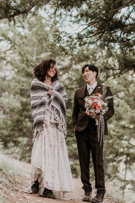 Having a small wedding in Estes Park.