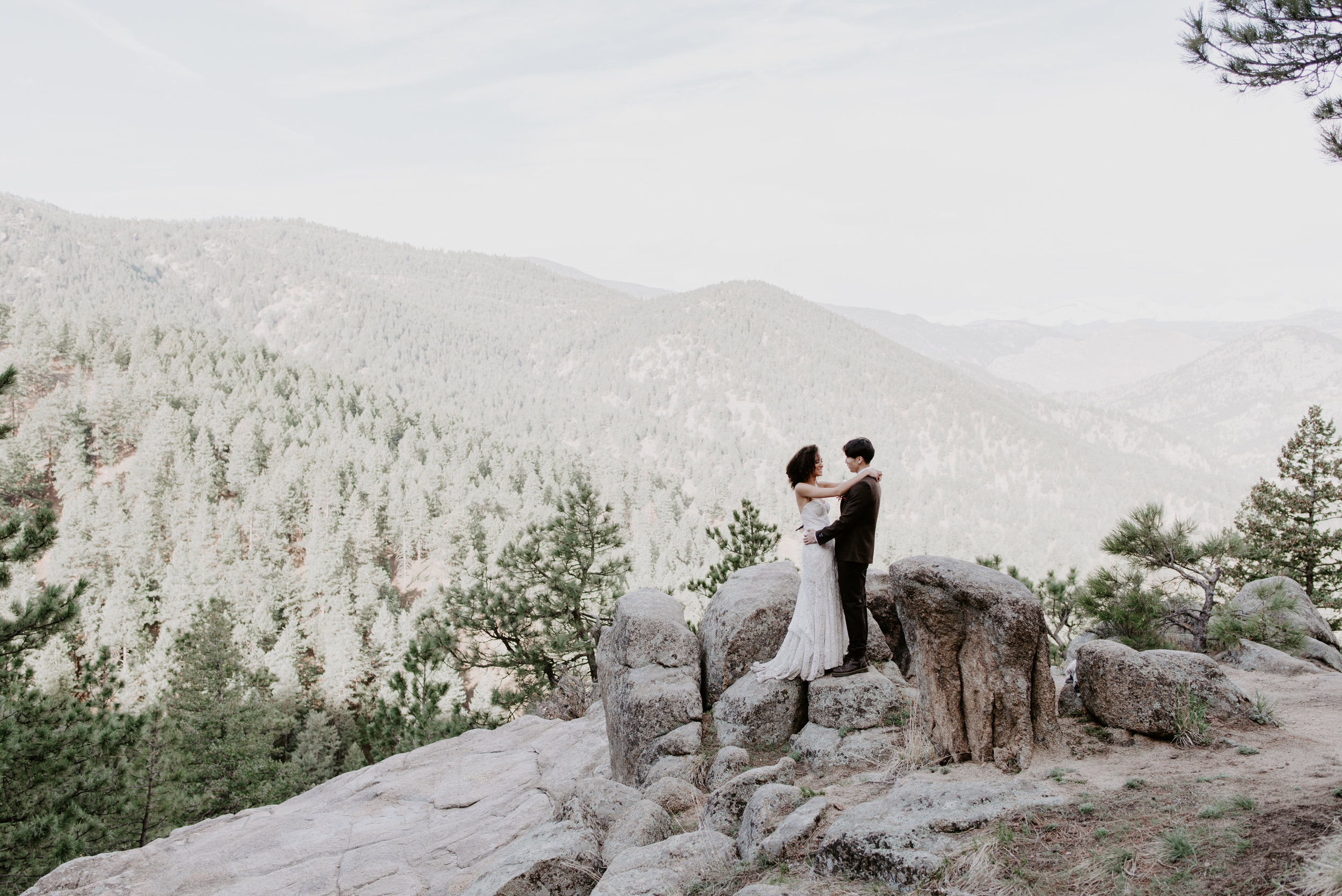 Gorgeous Boulder wedding.