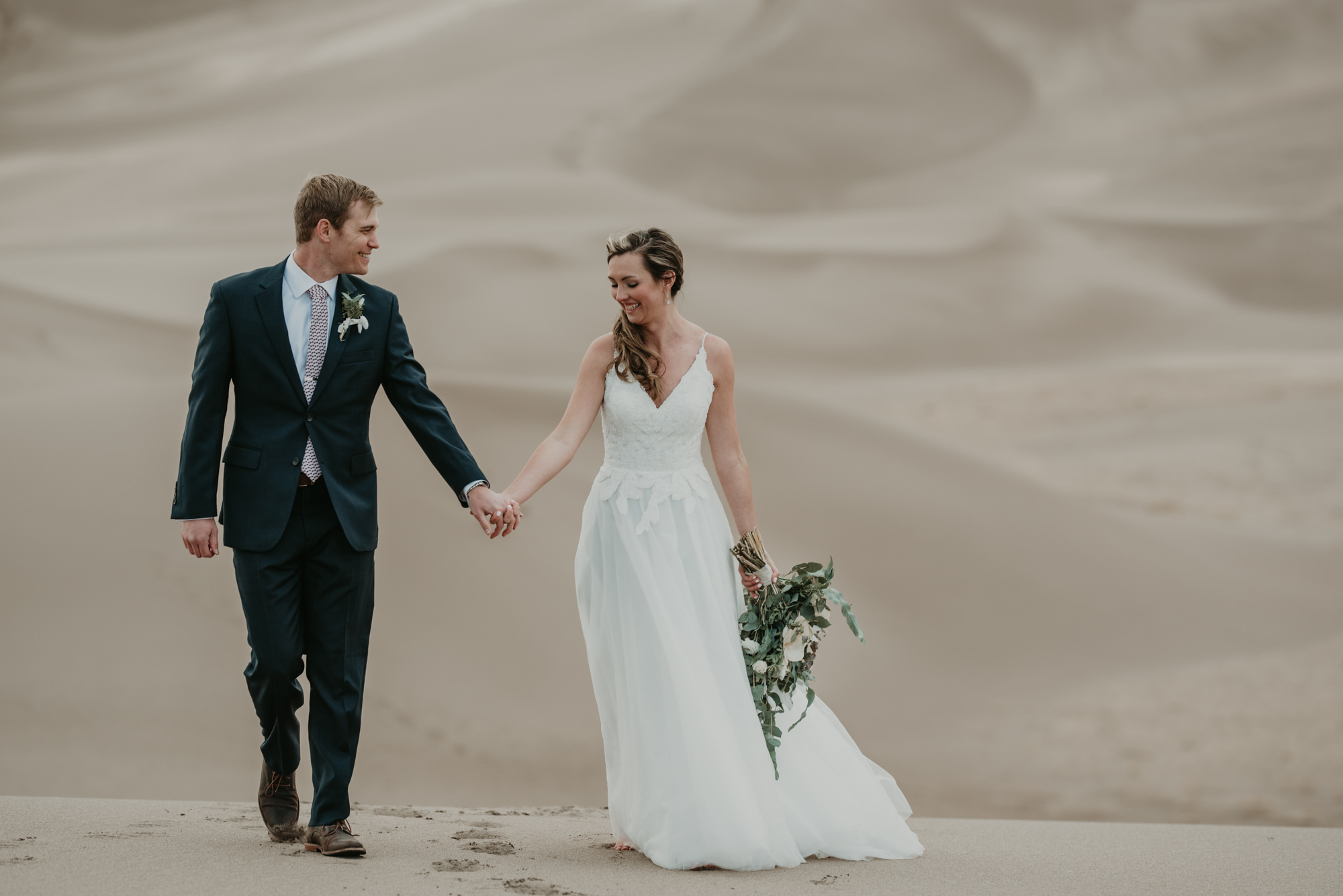 Adventure elopement in Colorado.