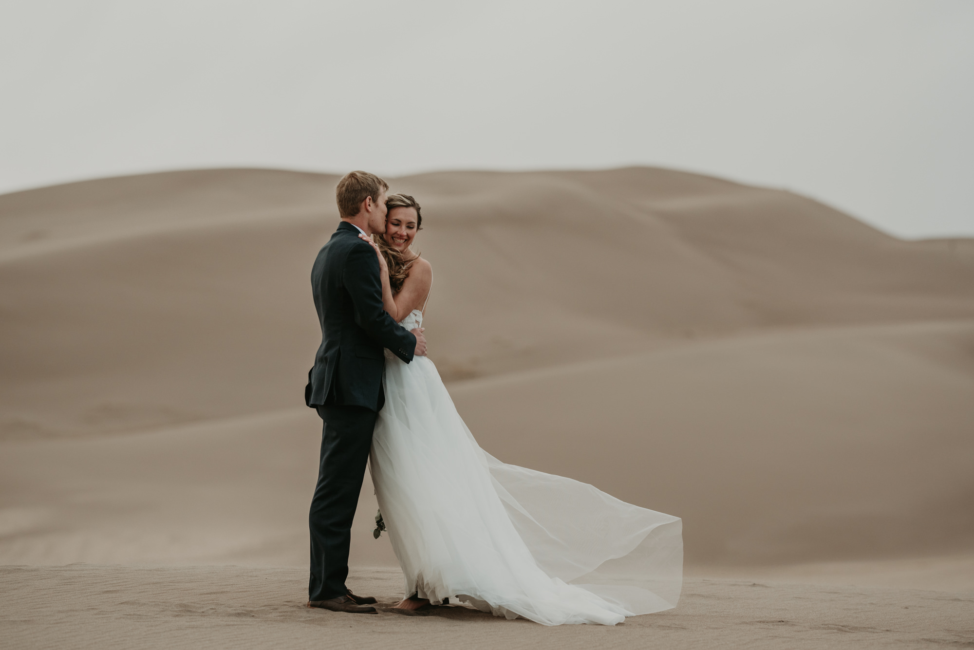 This is my favorite wedding photo at the dunes.