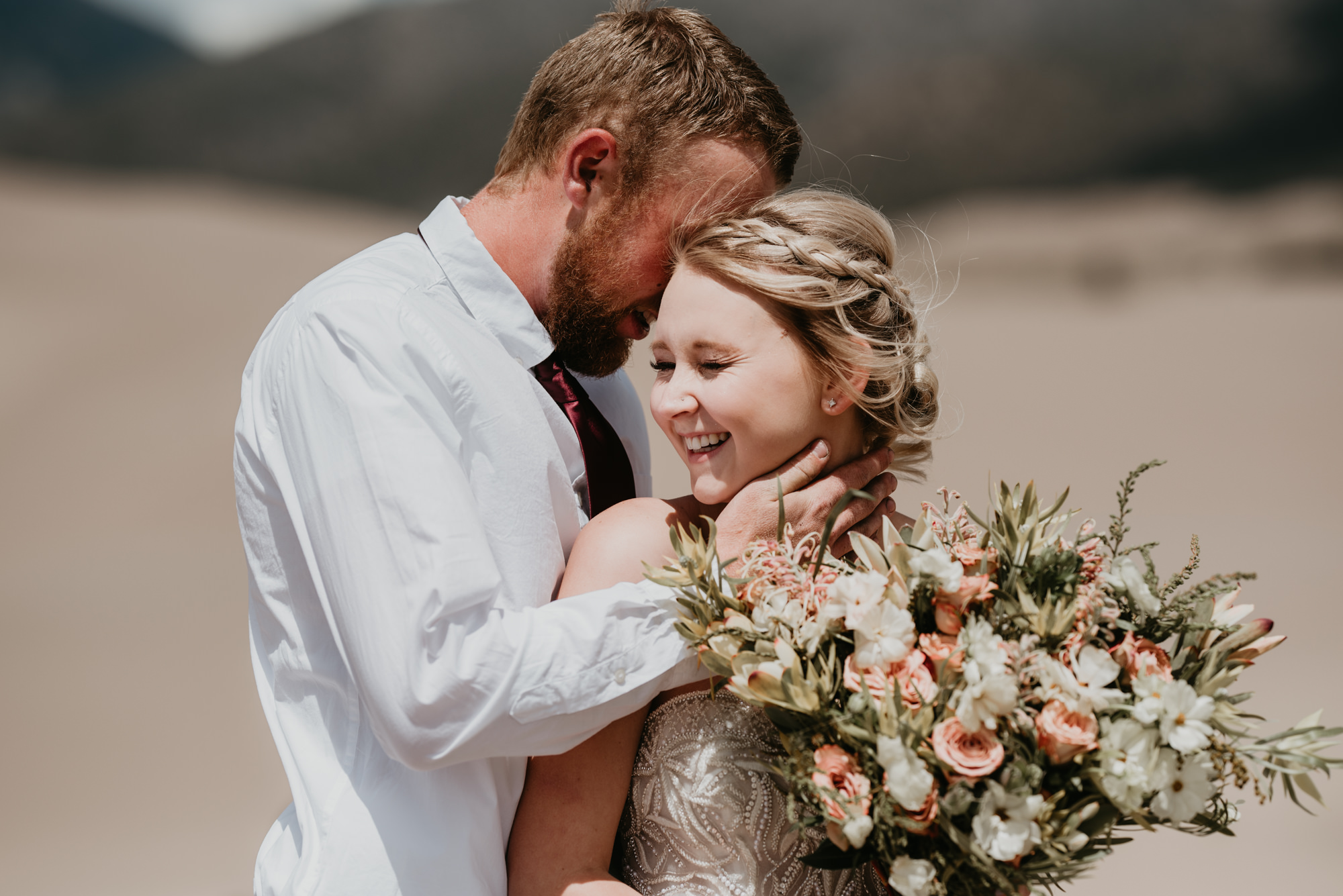 Southern Colorado wedding at the Sand Dunes