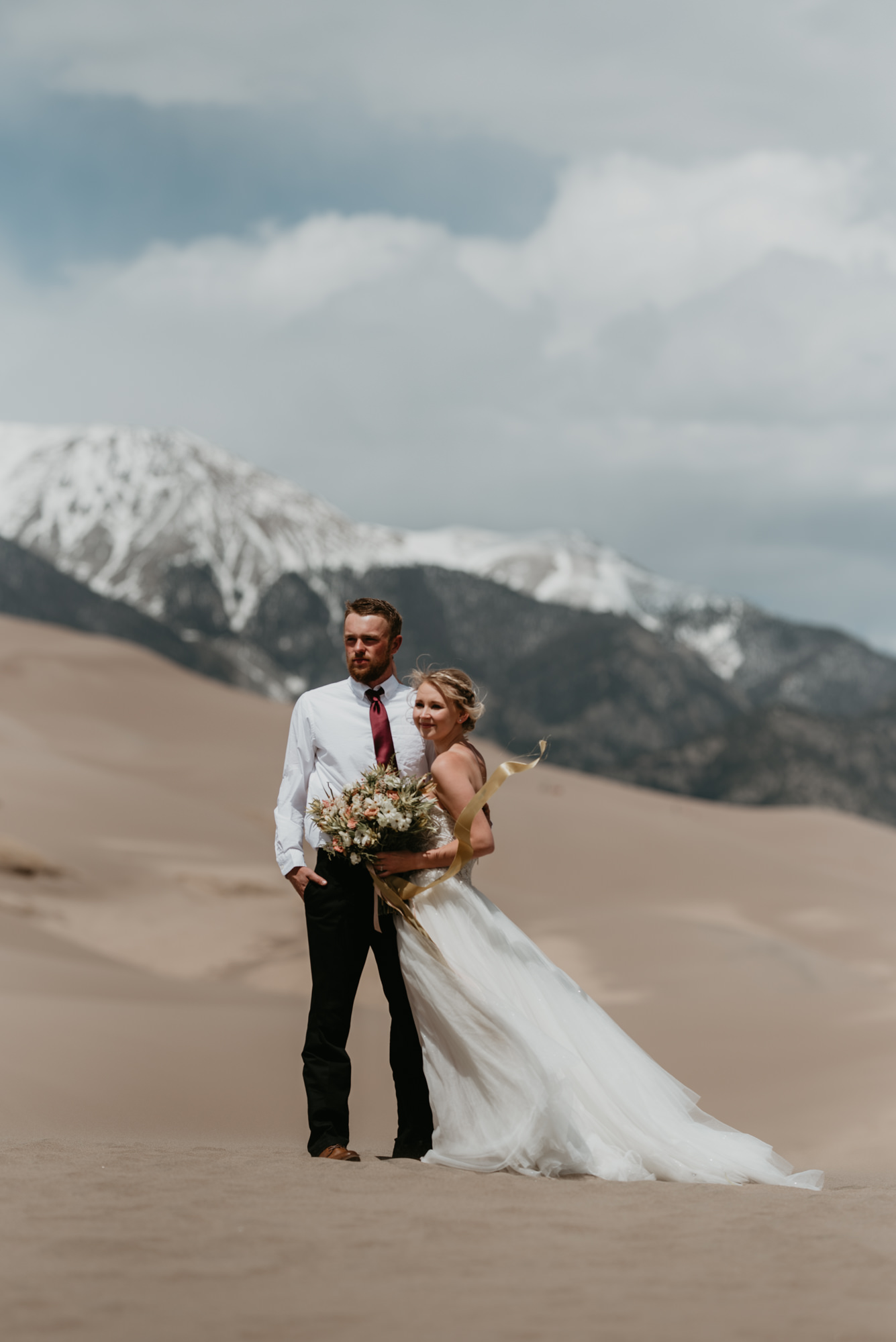 Colorado's epic views are perfect for an outdoor wedding.