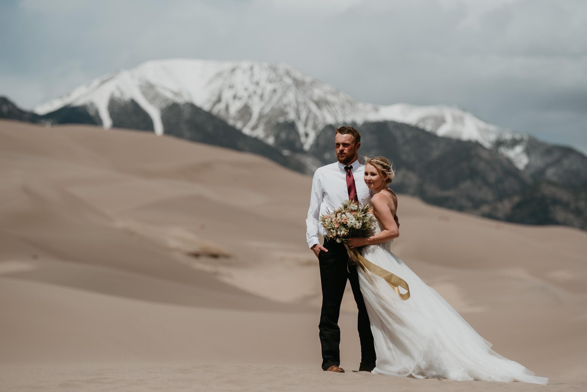 Wild Earth Weddings - Great Sand Dunes Colorado