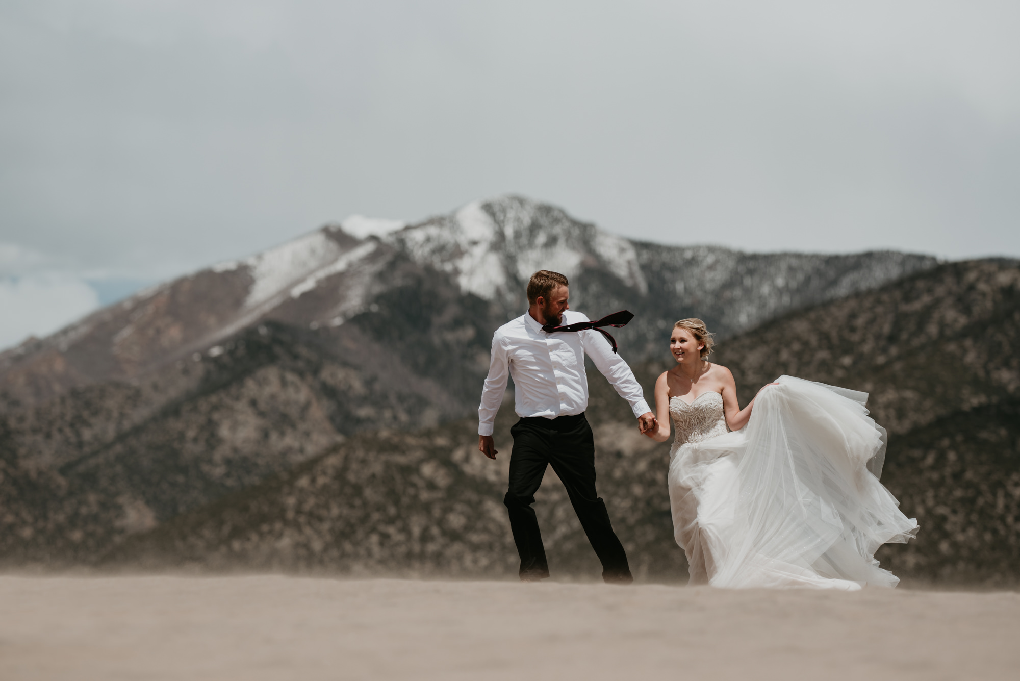 Gorgeous desert mountain wedding.