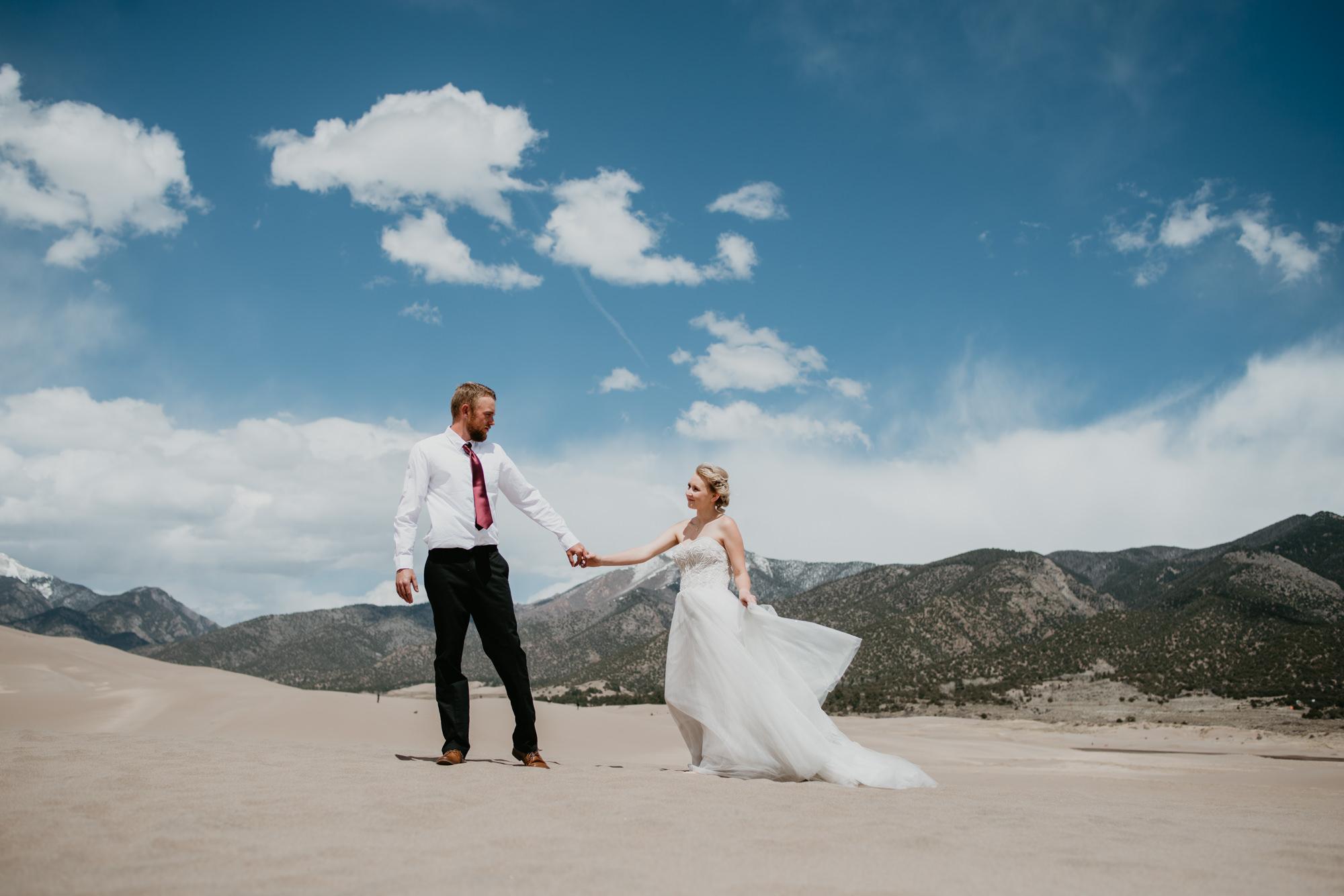Outdoor wedding venues in Colorado