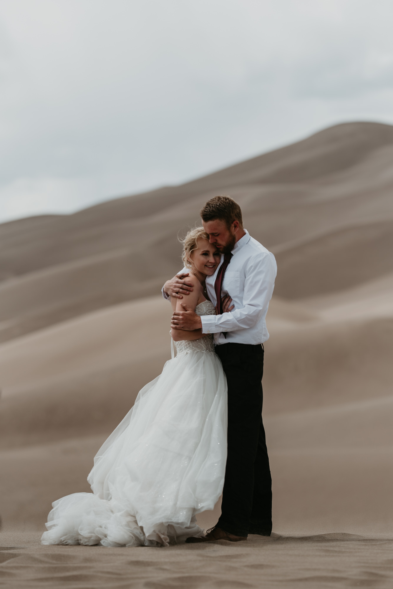 Sweet Colorado wedding photos.