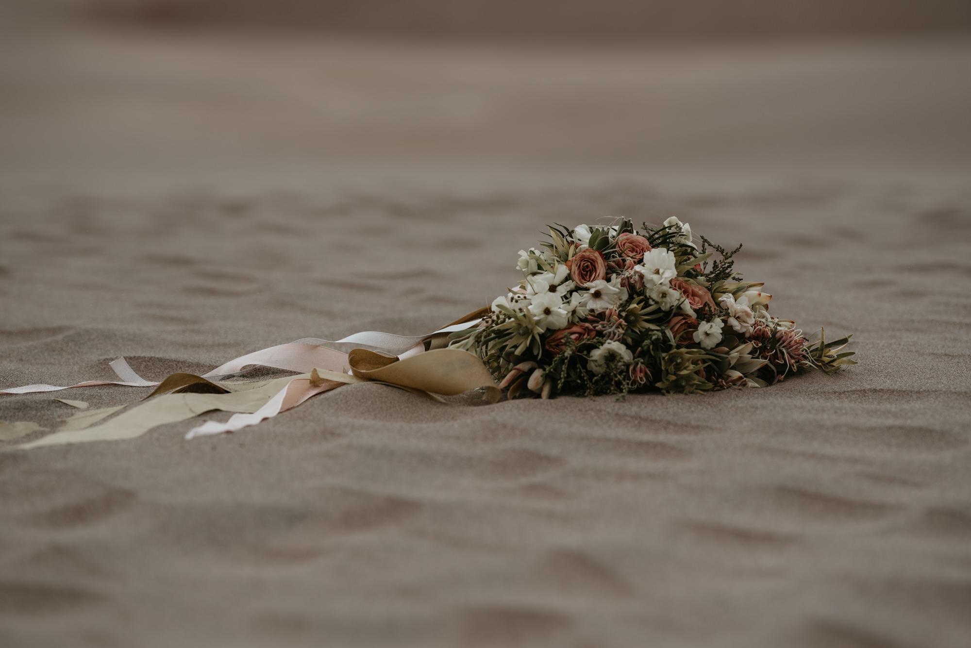 Great Sand Dunes desert bouquet.