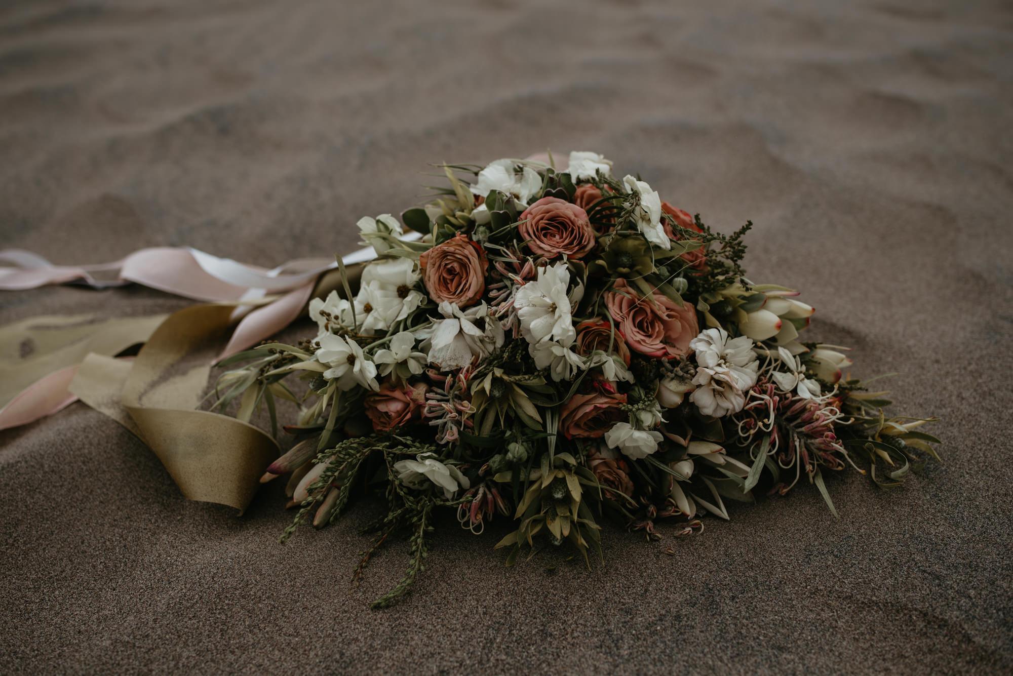 Beautiful desert bouquet.