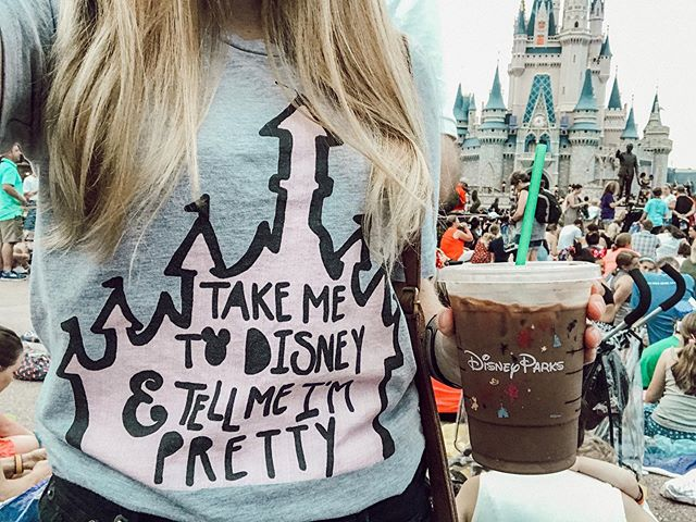 #mondaymood ✧ may your coffee be strong & your monday short ✧ what's your go to Starbucks order in the parks??? mine was a mocha for the longest time, but now I'm all about vanilla lattes... ✧ ✧ ✧ ✧ ✧ #happymonday #takemetodisney #tellmeimpretty #waltdisneyworld #waltdisneyworldresort #magicmonday #magickingdom #disneycoffee #disneystarbucks #disneymagickingdoms #disneyig #disneyigaccount #wdw_igers #wdw_ig #cinderellacastle #lovefettandco #disneytravelplanner #disneytravelagent #disneyvacationplanner