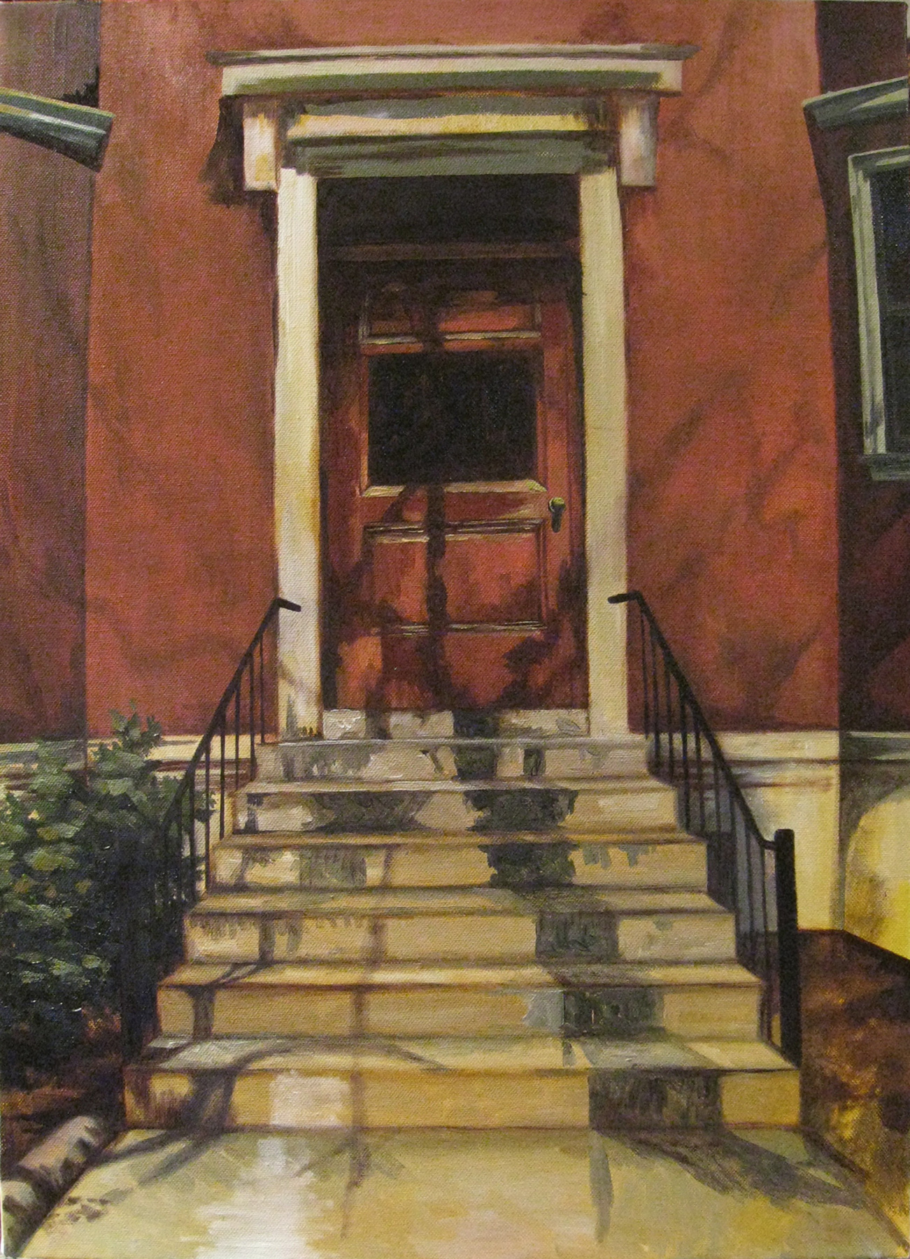 30 Hemenway   2011 20x24  oil on canvas