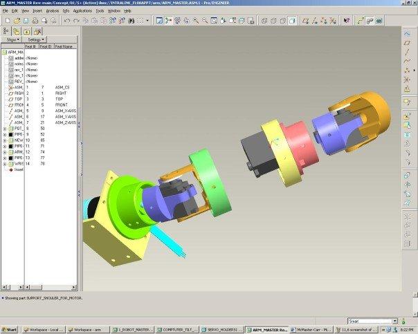 Motorobo Internal Arm Alignment