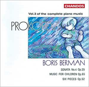 Prokofiev: Complete Piano Music, Vol. 3