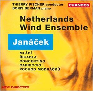 Janáček: Concertino, Capriccio, with Netherlands Wind Ensemble, Thierry Fischer conducting