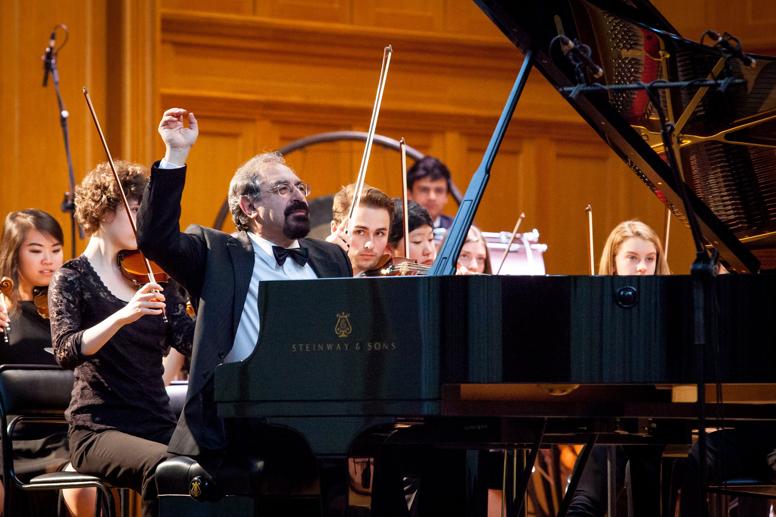 With YSO in Moscow