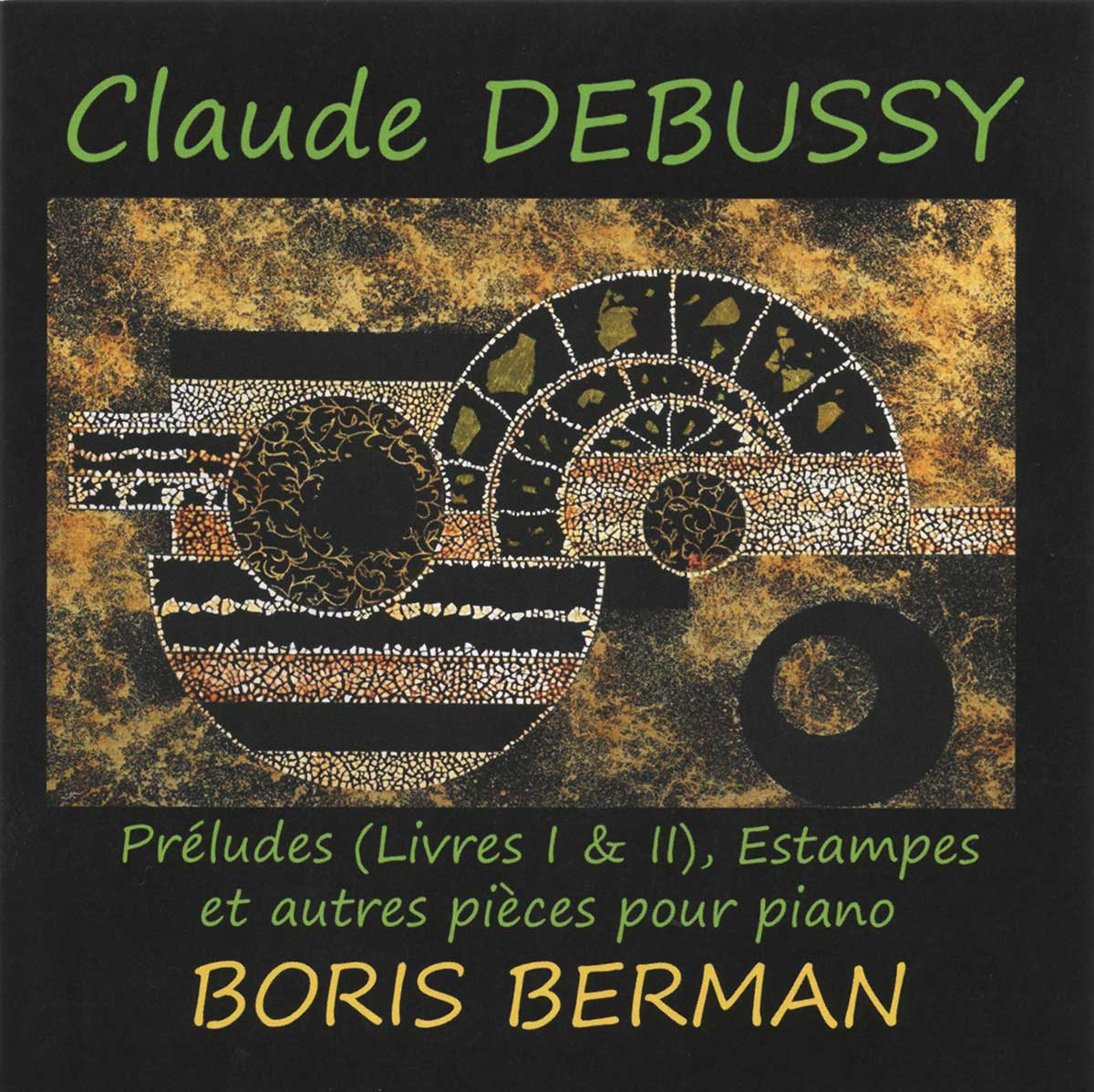 Debussy - Preludes (book 1 & 2), Estampes and other pieces, Le Palais des Degustateurs, PDD  014
