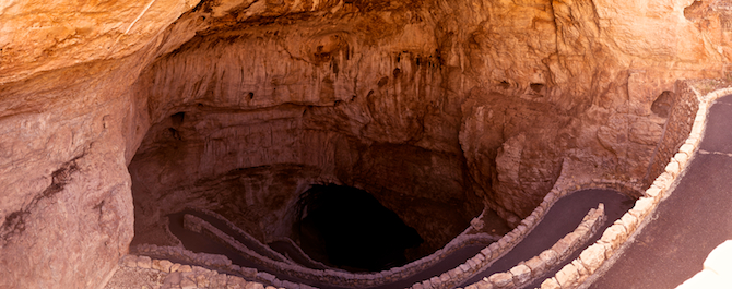 Carlsbad Caverns Cave Park New Mexico Panoramic Entrance Naomi VanDoren
