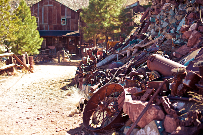 Jerome-Arizona-Ghost-Town-Junk-Old-Naomi-VanDoren 7