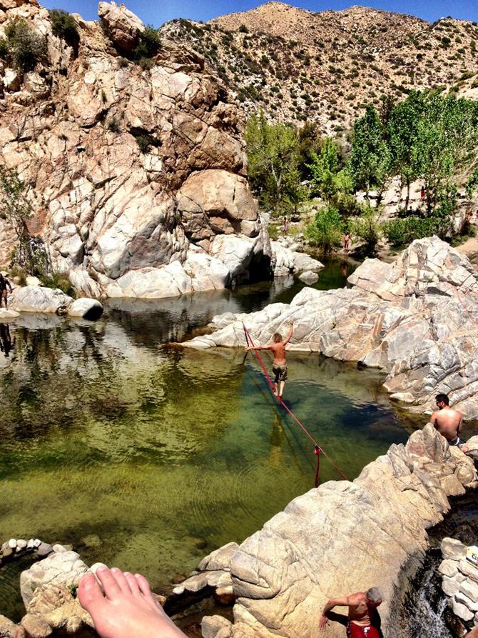 Deep Creek Hot Springs | NaomiVanDoren.com