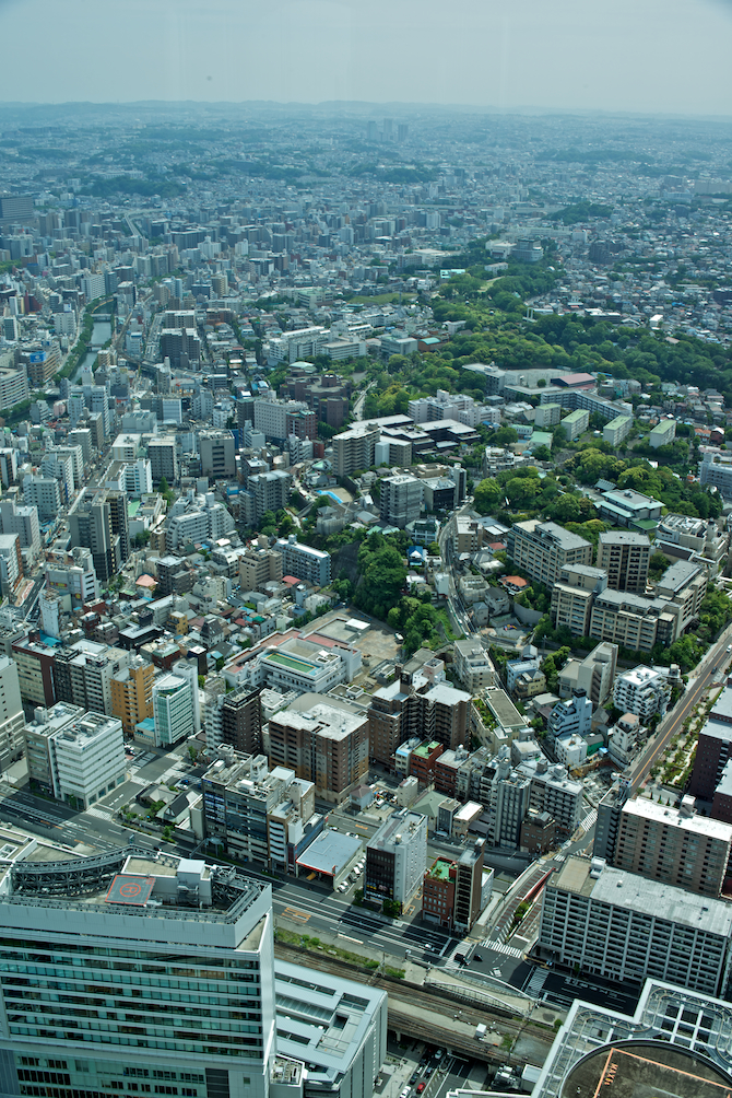 Landmark Tower Yokohama, Japan | NaomiVanDoren.com
