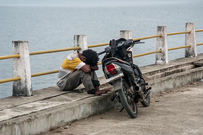 Nap lake sentani papua Indonesia Naomi VanDoren