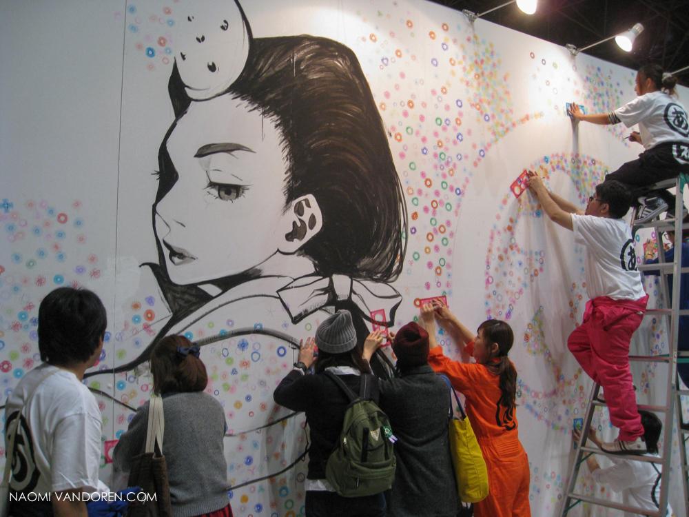 design festa tokyo japan art show naomi vandoren-28.jpg