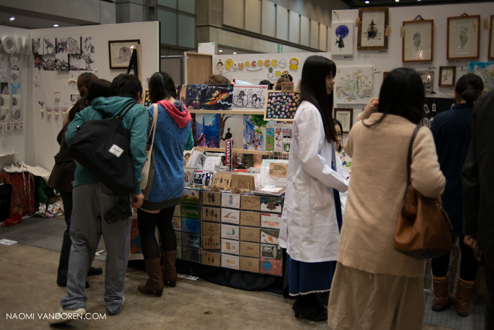 design festa tokyo japan art show naomi vandoren-70.jpg