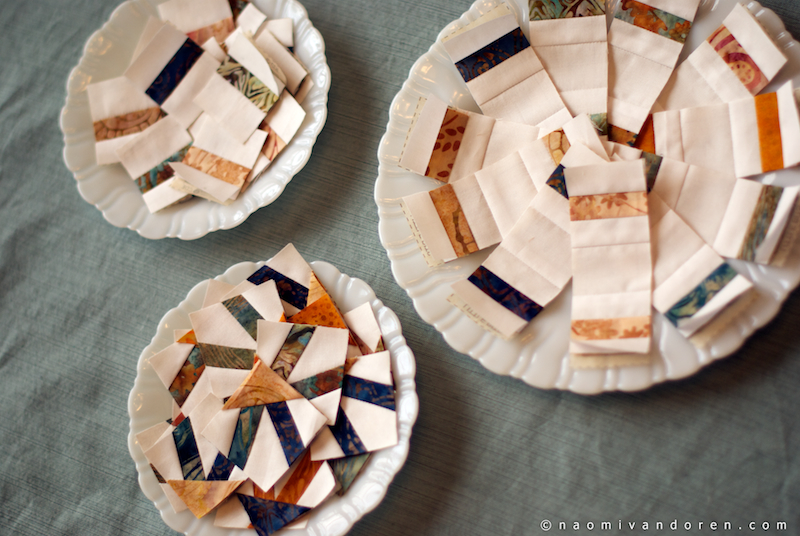 mini wedding ring quilt naomi vandoren