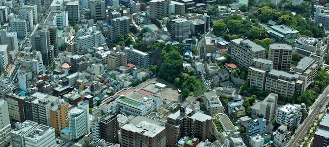 Views of Yokohama from Landmark Tower
