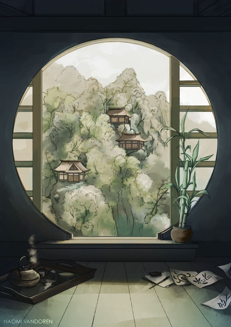 """Bamboo & Tea""   2014 |  Prints & Merchandise"