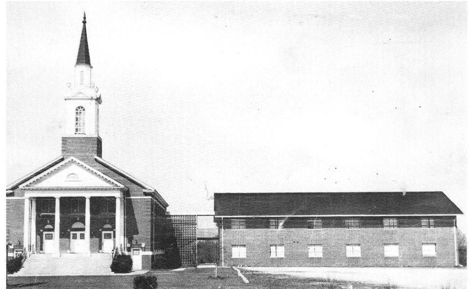 Woodlawn Baptist Church, ca. 1968