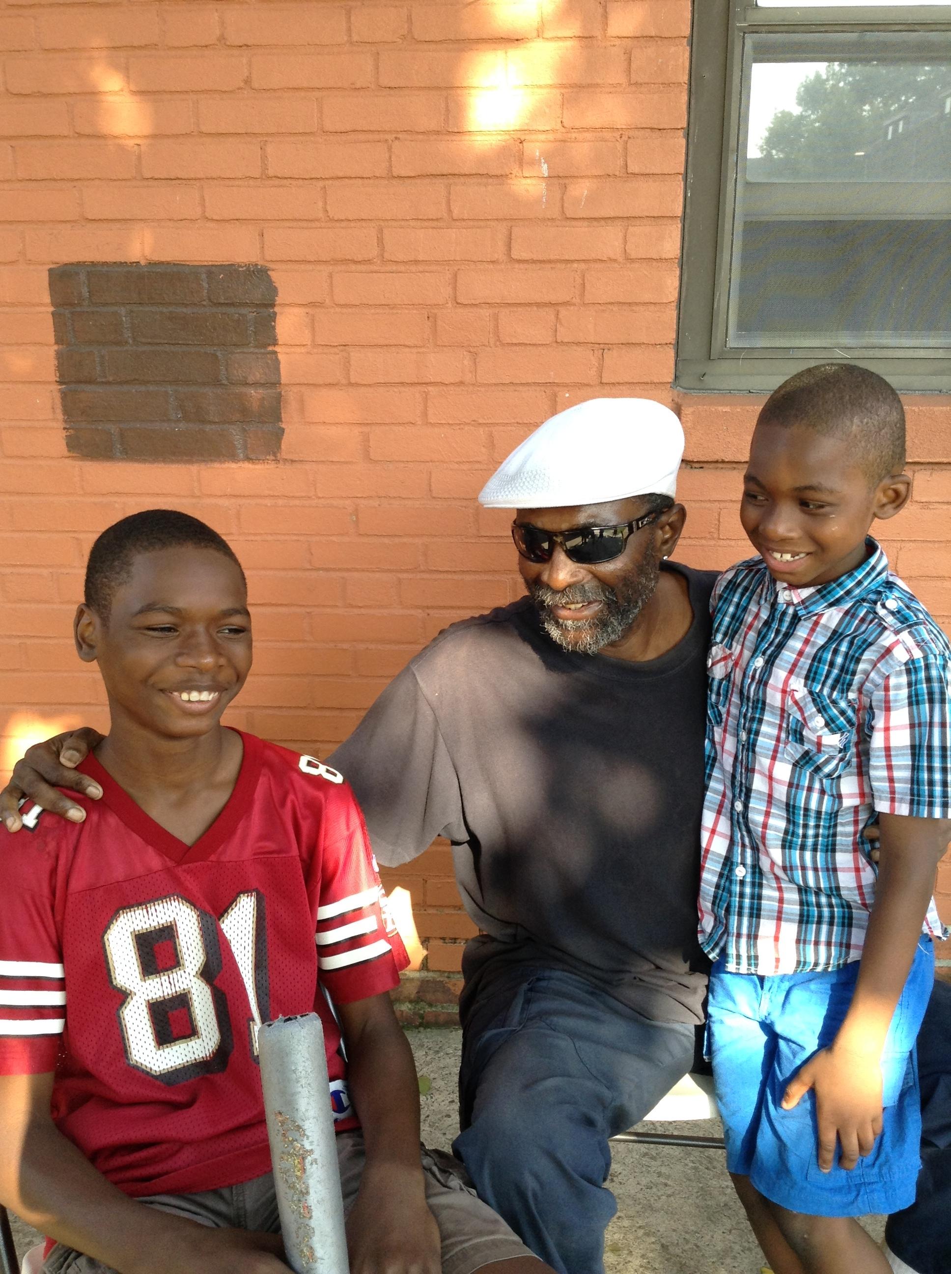 Left to Right. Angel Williams, Savion's father (RIP), Savion Williams