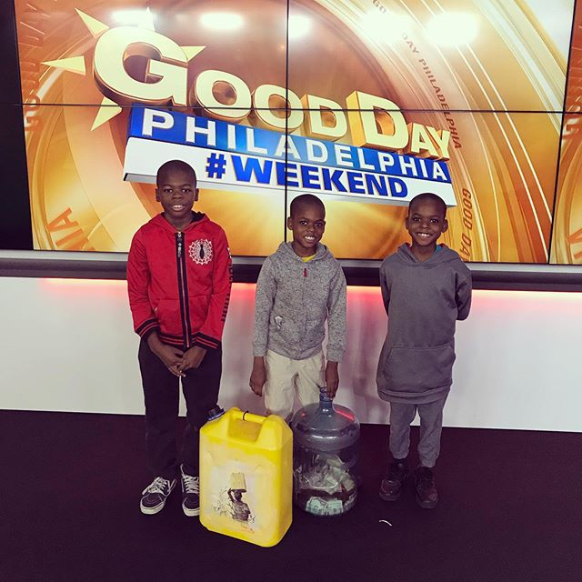 Philly Mission kids on Fox29 this morning sharing about our giving circle. The power of pennies. They helped raise money for a Ugandan water well. Phillyhope.com  #Phillykids  #water #Uganda  #givingcircle