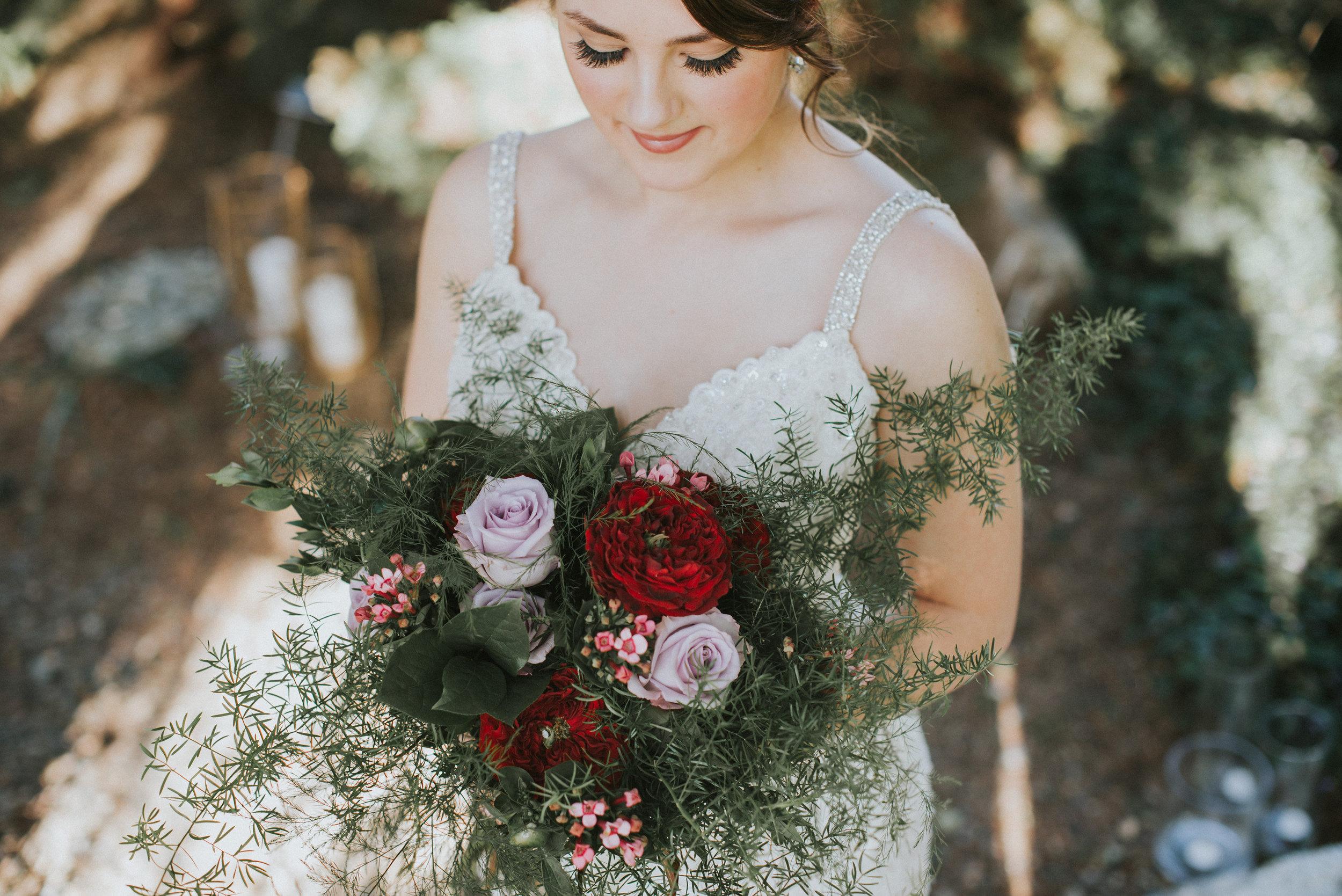 wedding day bouquet