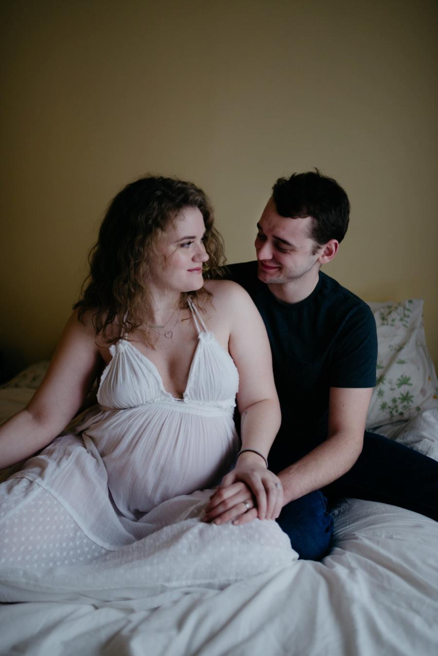 tacoma maternity session