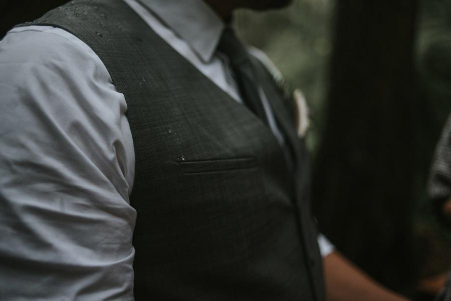 rain on groom