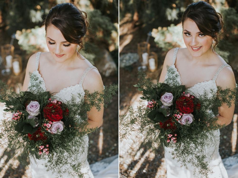 bride at windmill gardens
