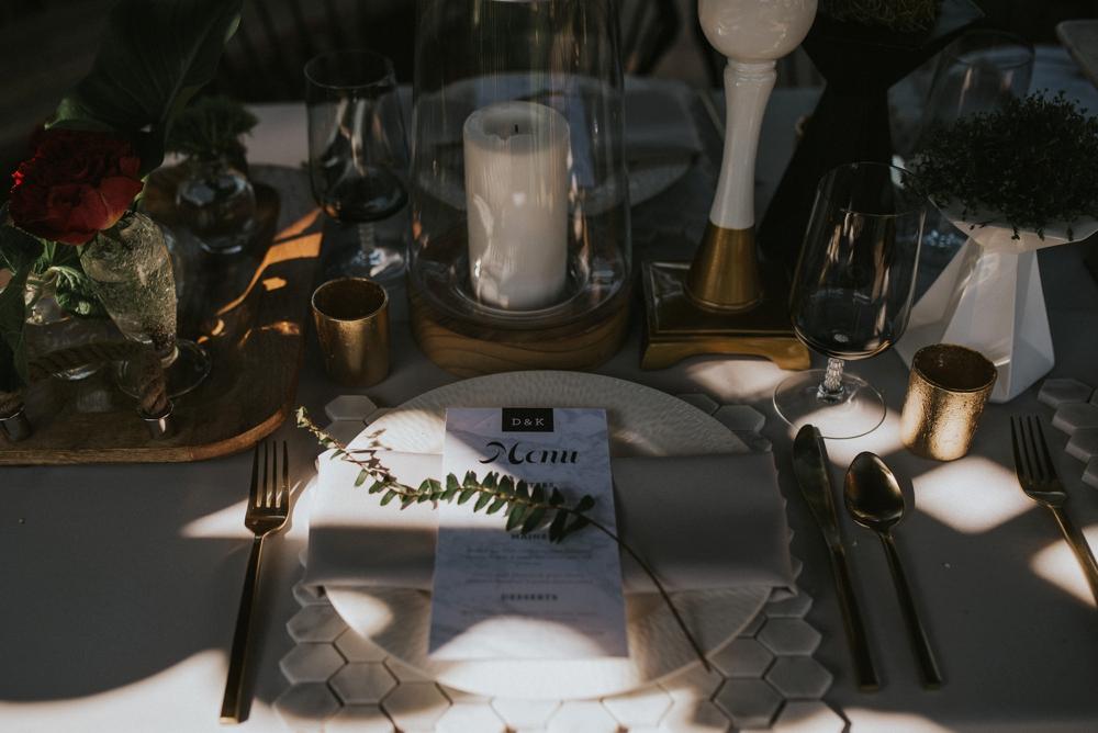 elopement menu