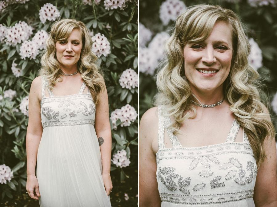 seattle bride portrait