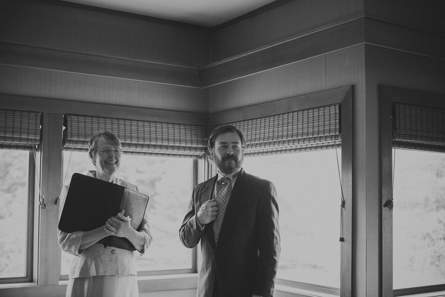 a heavenly ceremony officiating elopement
