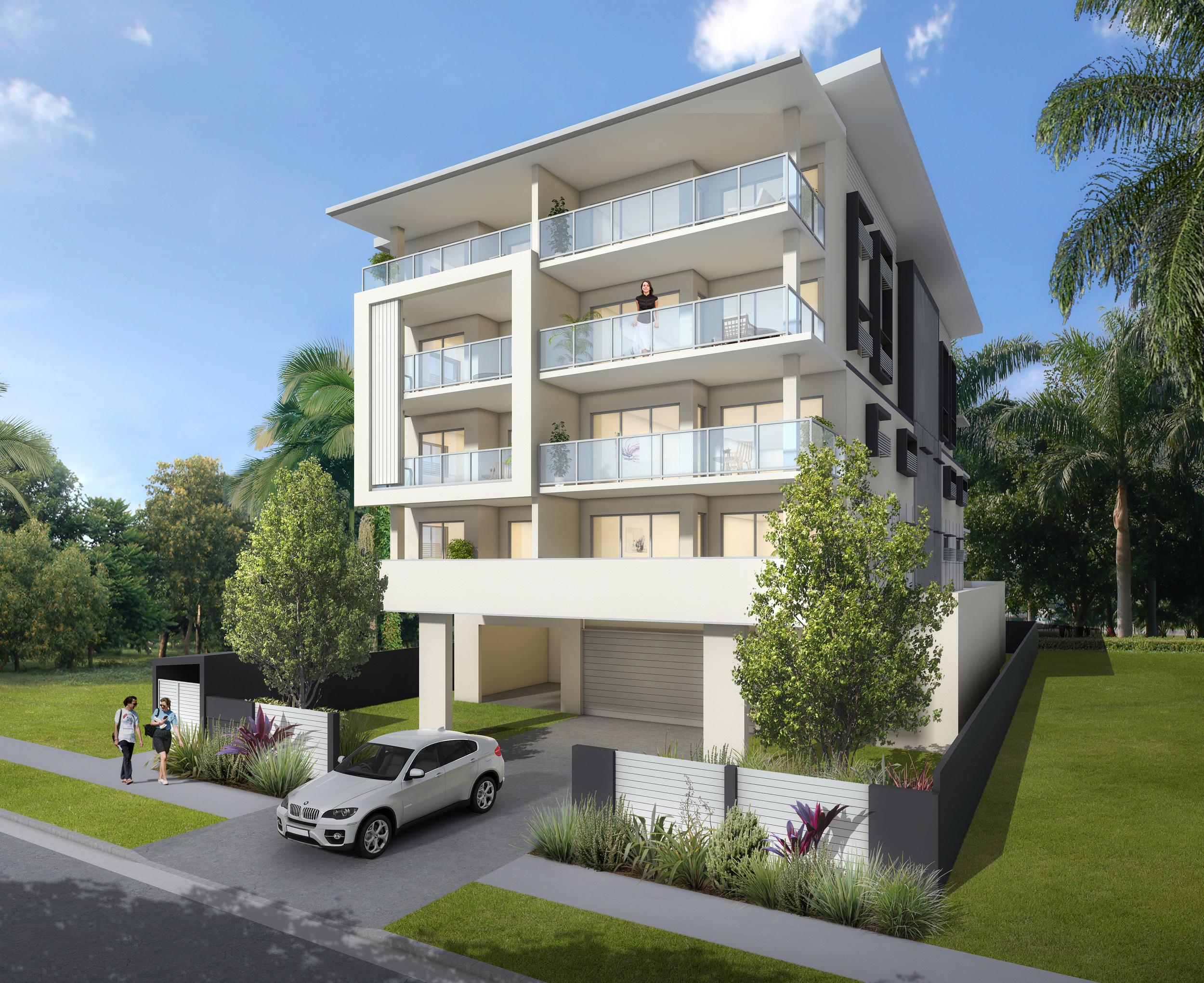 Apartment building Brisbane