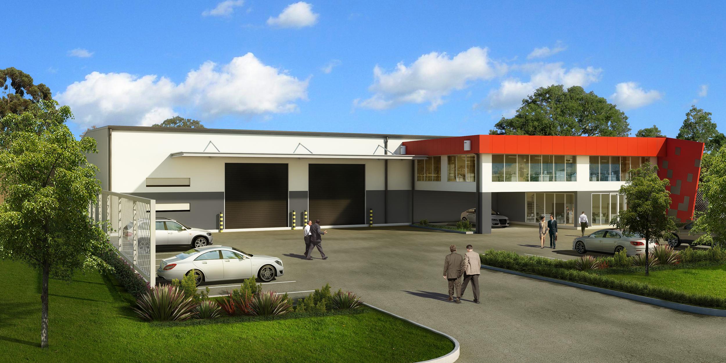 Commercial building Brisbane
